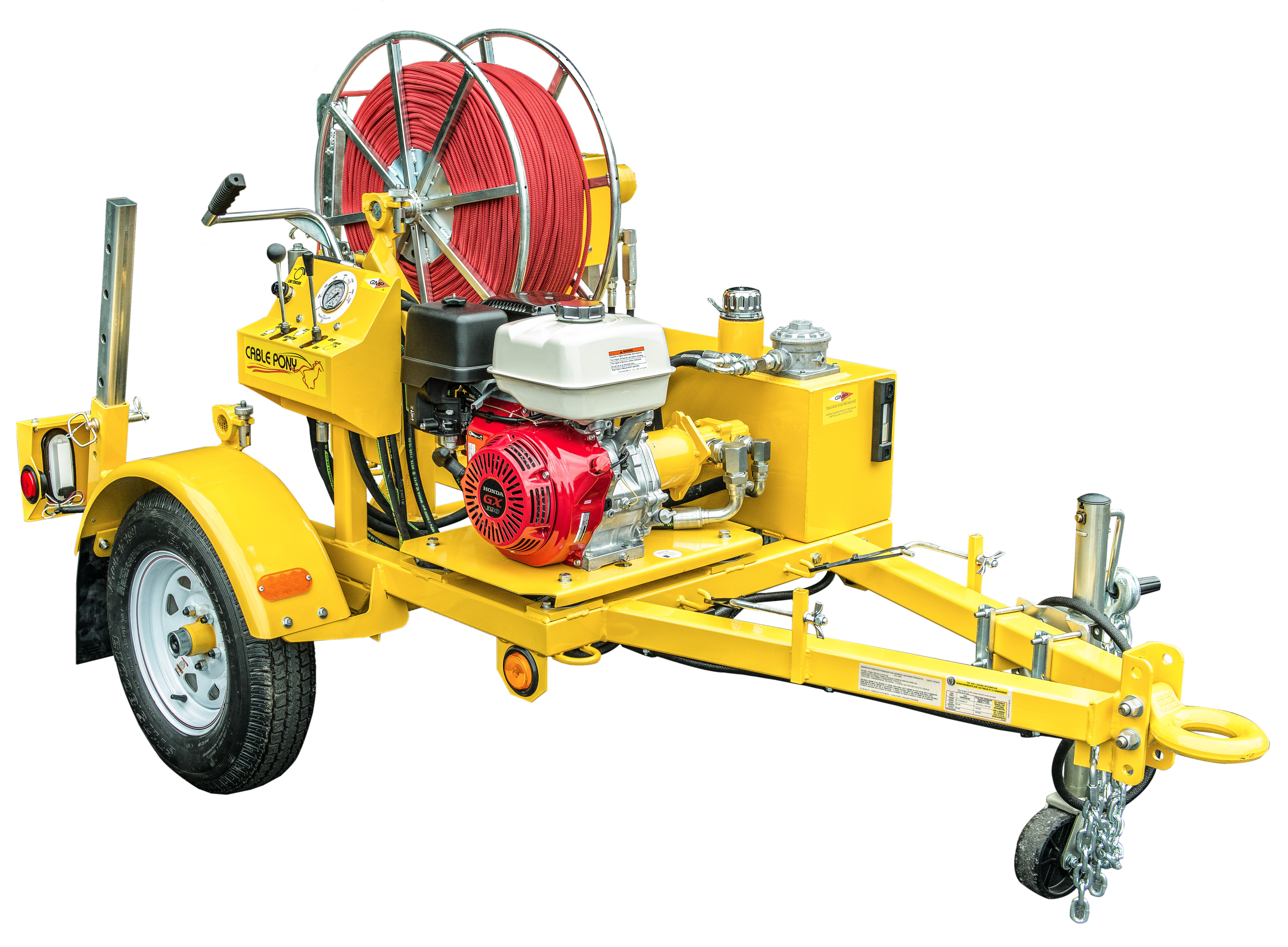 Cable Pony Hydraulic Adss Winch General Machine Products
